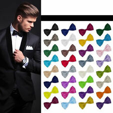 Fashion Gentleman Adjustable Multicolor Tuxedo Bowtie Wedding Bow Tie Necktie