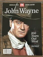 American Icons TV Guide Special Edition John Wayne 100 Years Out West 2013