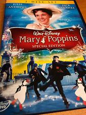MARY POPPINS : WALT DISNEY - 2 DISC DVD SET - NIEUW gratis verzending