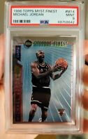 1996 Topps Mystery Finest Extremely Low Pop Michael Jordan #M14 PSA 9 MINT GOAT!