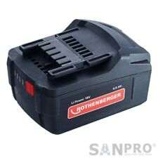 Rothenberger 18 V/4,0 Ah Li-Ion Battery - BP18/4 per Romax 18 Volt Rullatrici