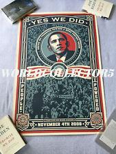 "The 44th United States president Barack Obama HOPE Poster 18x12 36x24 40x27/"""