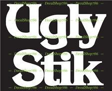 Ugly Stik Fishing Rods - Outdoors Sports - Vinyl Die-Cut Peel N' Stick Decal