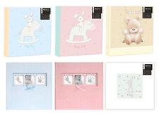 Large Baby Photo Album 6x4 200 Photos Boy Girl Unisex Teddy Memo Slip In Gift