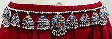 India Ethnic Boho Kuchi Tribal Belt Belly Dance hip Scarf Costume Afghan Jewelry