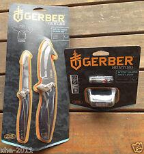 Gerber Myth Hunting Knife, Field Dress kit & Headlamp Headlight