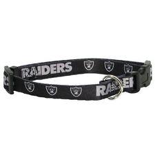 Oakland Raiders Medium 14 - 20 Inch Dog Collar
