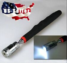 """LIGHTED Magnetic Pick Up Tool pull over 8 lbs extends over 31"""""""