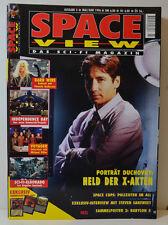 3/1996 SPACE VIEW   AKTE X - DUCHOVNY  ANDERSON - STAR TREK - STAR WARS    (SV6)