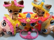 Littlest Pet Shop Lot 3 RANDOM Tiara Crown for Cats Accessories LPS SURPRISE
