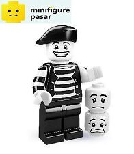 Lego 8684 Collectible Minifigure Series 2: No 9 - Mime - New & SEALED
