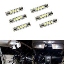 6 x Xenon White T6 28MM 4SMD LED For Car Vanity Mirror Light Sun Visor JDM 6641