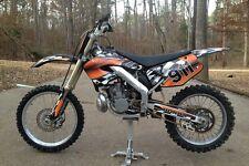 2000 2001 CR 125 250 Graphics CR125R CR250R custom deco kit #2500 Orange