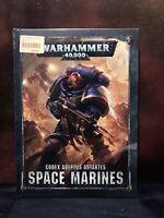 Warhammer 40K 8th ed Codex Adeptus Astartes Space Marines book New