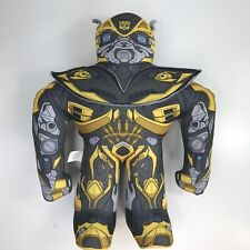"Transformers Age of Extinction Bumblebee 16.5"" Talking Plush Doll"