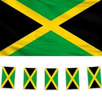Jamaica 1 Flag & 2 Bunting Pack Caribbean Island National Country Banner Garland