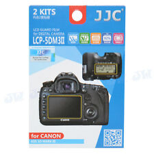 JJC LCD Guard Film Screen Protector For Canon EOS 5D Mark IV III 5Ds 5DsR Camera