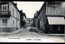 """JOIGNY (89) Commerce """"Traiteur BINOCHE"""" Rue d'ETAPE animée début 1900"""