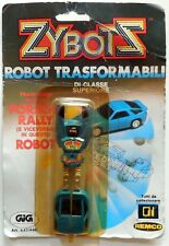 VINTAGE TOY GIOCATTOLO ZYBOTS ROBOT TRASFORMABILI CAR  PORSCHE GIG 1984 REMCO