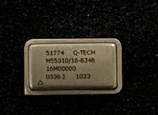 3 Pcs Q Tech Mil Spec M5531016 B34b 16mhz Crystal Oscillators