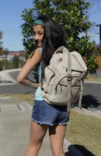 Hemp backpack Mens Womens kids Rucksack school college Laptop bag Travel Hike
