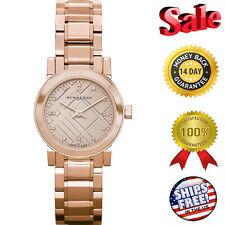 8f50802b11c8 100% Nuevo Burberry Bu9215 Reloj Herencia Mujer - Esfera Oro Rosa Inoxidable