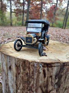 1991 Franklin Mint Precision Models 1913? Ford Model T Touring Car 1/16