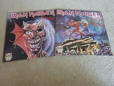 "IRON MAIDEN - Purgatory/Japan/Hills/Beast - 2 x 12"" Set First Ten Years - N/MINT"