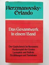 Das Gesamtwerk in einem Band Herzmanovsky Orlando Erzählungen Anekdoten