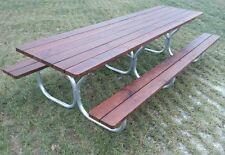 Aluminum heavy duty picnic table frame for 12ft.picnic table