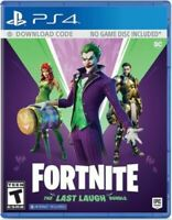 FORTNITE THE LAST LAUGH BUNDLE Playstation 4 PS4 Brand New Sealed