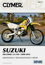 Clymer Repair Service Shop Manual Vintage Suzuki DR-Z400E S SM 2000-2012
