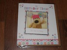 "BOOFLE..."" IT'S BIRTHDAY TIME ""..HOLOGRAM SEALED BIRTHDAY CARD-See Photo's"