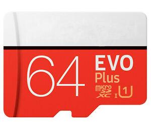 HOT 64gb Microsdhc Evo Plus Memory Card W/adapter