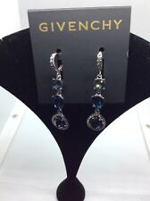 $58 Givenchy Women's Silver-Tone Halo Drop Earrings #309