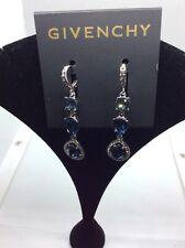 $58 Givenchy Women's Silver-Tone HALO Drop Earrings #309