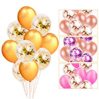 "10PCS 12"" Confetti Balloons Latex Wedding Party Baby Shower Birthday Decor"