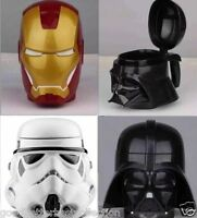 Star Wars Iron Man Darth Vader Stormtrooper Coffee Mug Beer Wine Cup With Lid