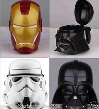Star Wars Iron Man Darth Vader Stormtrooper Coffee Mug Beer Wine Cup With Lid