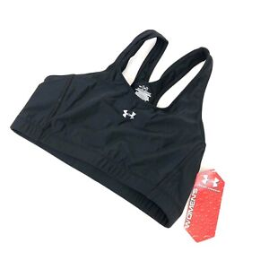 Under Armour Women's Sport Bra Black Medium New Nylon Spandex Medium