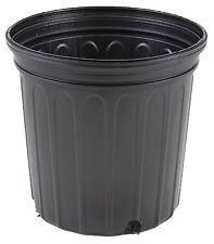 1 Gallon Trade Nursery Pot Greenhouse Growing Black Plant Flower Fern - Qty 400