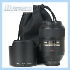 Nikon 105mm f2.8 G AF-S VR IF ED Micro Lente