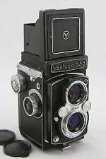 Yashica 635 vintage twin lens, waist level finder camera, lens Yashikor 3.5/80mm