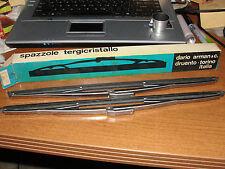 "AR-TO#655 Dario/Arman&Co.Italy 14""Stainless Wipers(2) Fiat Dino,Ferrari w/7mmArm"