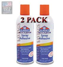 ELMER'S Spray Glue Adhesive Aerosol 11 oz - 2 pack