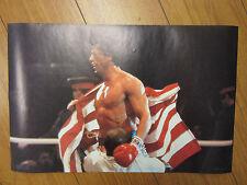 "Rocky IV 1985 Balboa ORIGINAL Vintage Poster 17""x11"" 10808"