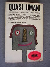WILLIAM F. NOLAN - QUASI UMANI - SUGAR - OTTIMO - LIB51
