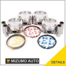 """Fit 95-98 Mazda Protege 1.5L DOHC """"Z5"""" Pistons w/ Rings"""