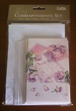 Correspondence Set, Gift Bag, 5 Gift Cards, 10 Writing Sheets, 15 Envelopes Moth