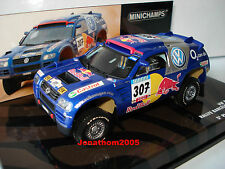 MINICHAMPS - VW RACE TUAREG #307 DAKAR 2005 SABY PERIN 1/43° Edition limited